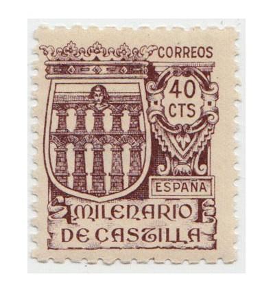 1944. Milenario Castilla. Muestra. Edifil 978N **