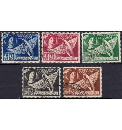 1938. Franquicia Mercurio. Edifil FR23-27 º