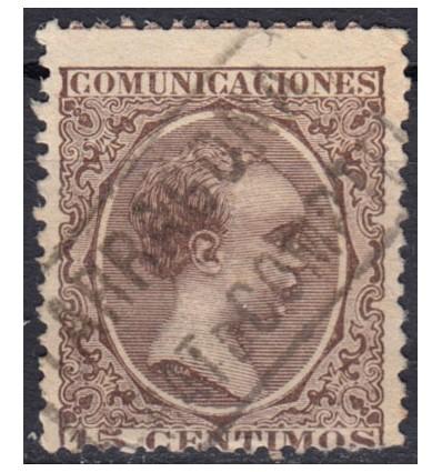 1889 ca. Alfonso XIII. Cartería Prat de Compte (Tarragona). Edifil 219