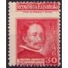 1937. Gregorio Fernández. Variedad perforación. Edifil 726dh