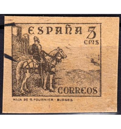 1937. Cid Campeador. Prueba. Edifil 816